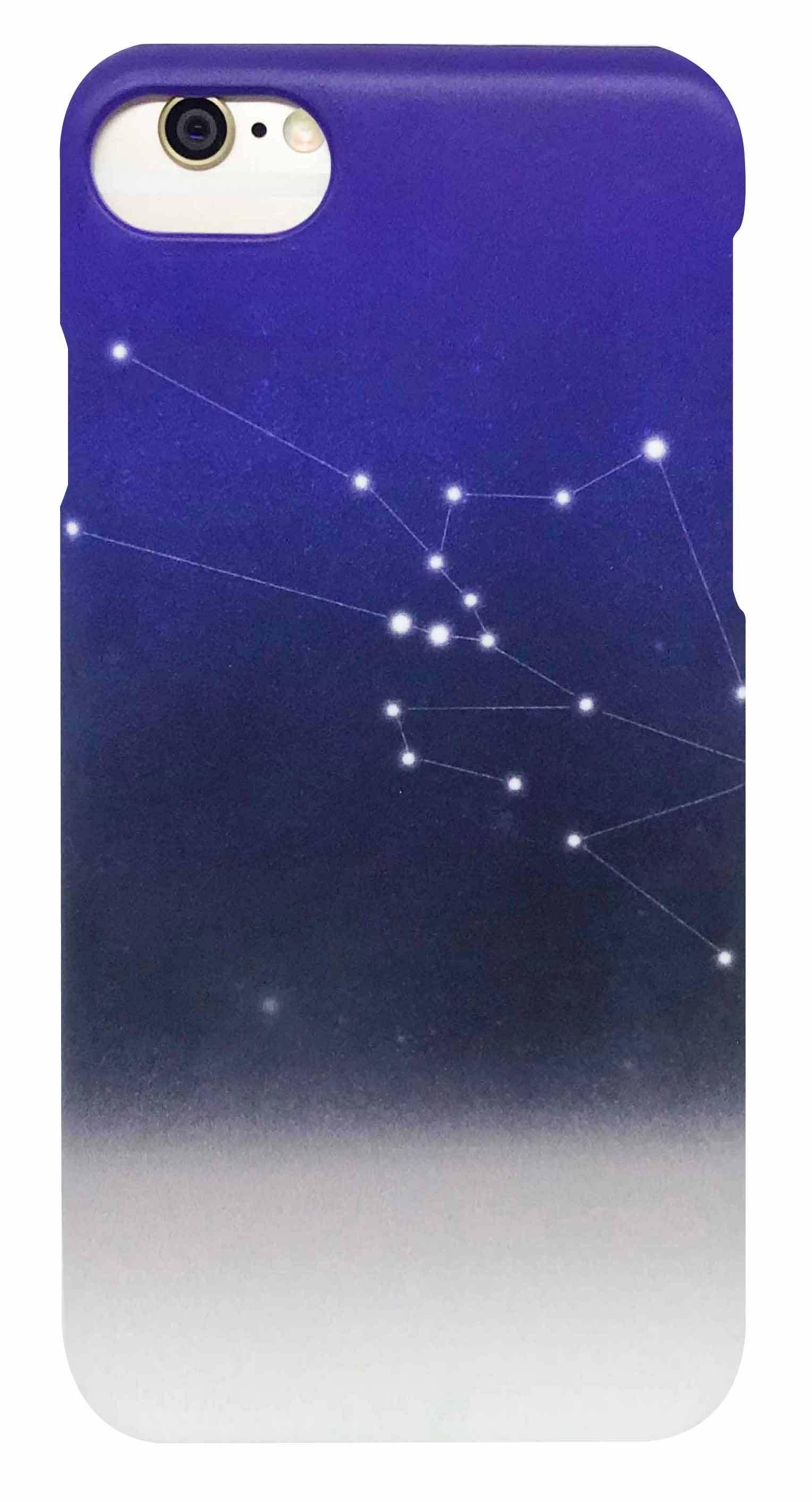 星座 ・ ブルー つや消し ハード ケース