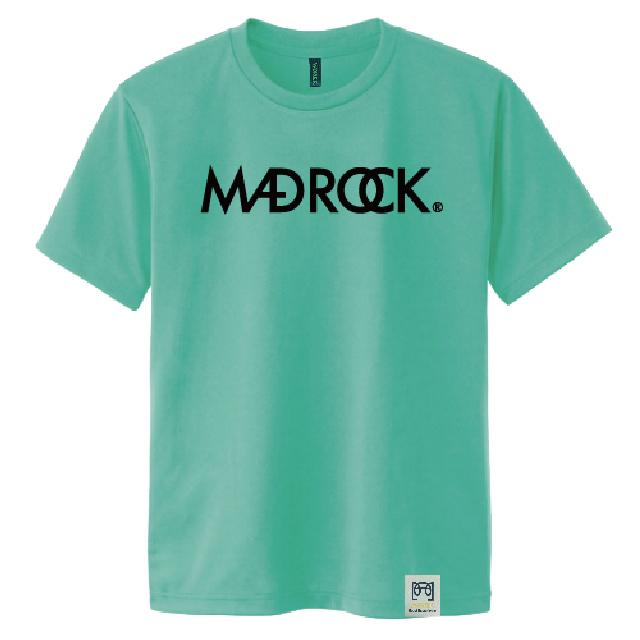 マッドロックロゴ Tシャツ/ドライタイプ/ミントグリーン