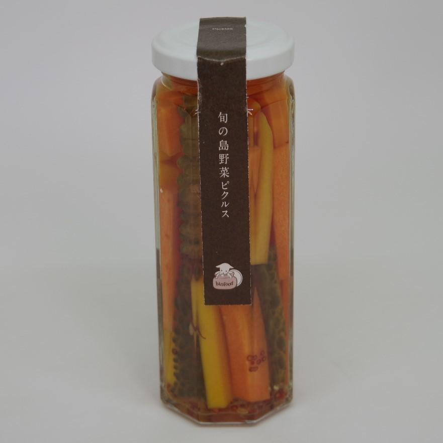 【ビンfood】旬の島野菜のピクルス