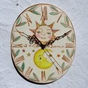 金の太陽と月(10cm)