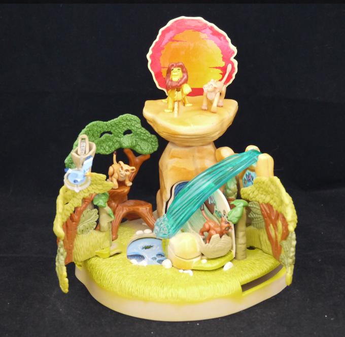 レア!ポーリーポケット ディズニー ライオンキング プライドロック 1996年 完品