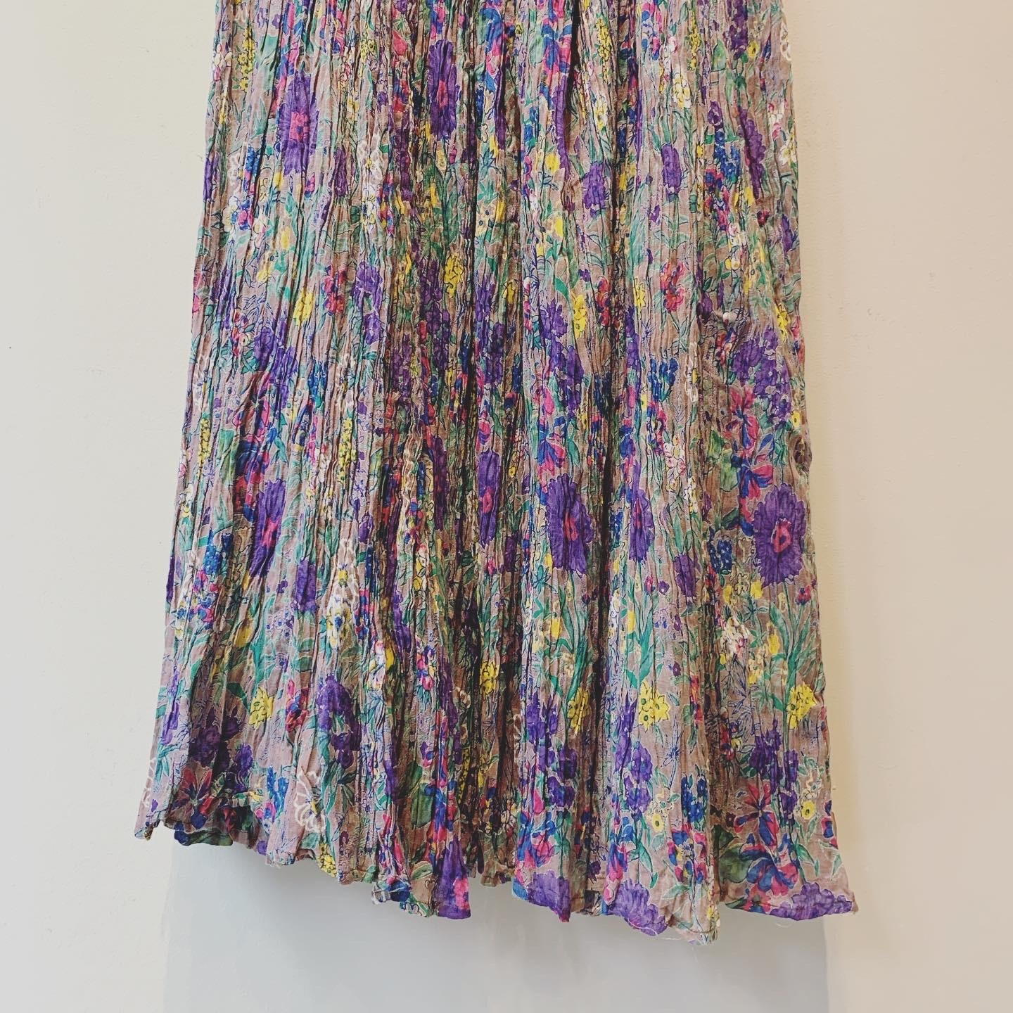 vintage 70s Indian cotton skirt