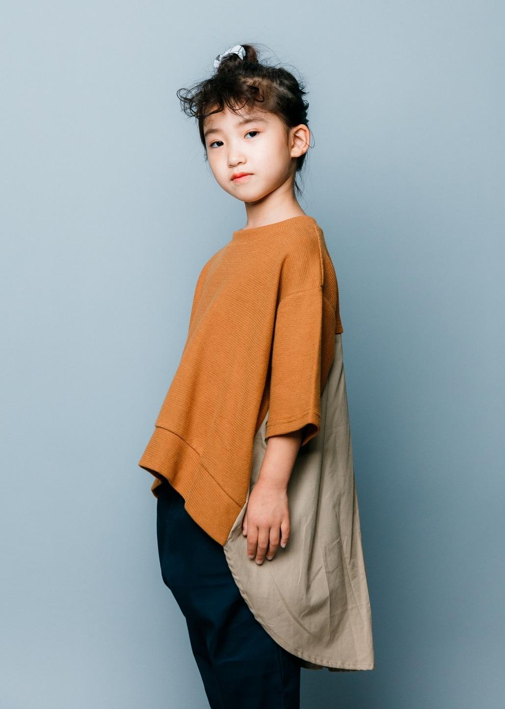 nunuforme ヌヌフォルム バックフレアT col:Brown size:125