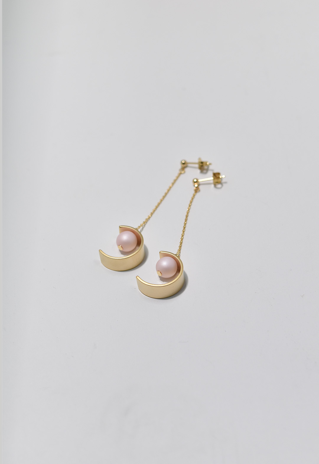 C-frame pierce Gold/Pink