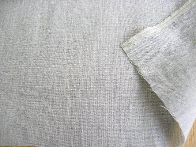 綿先染めダンガリー グレー CTN-0153