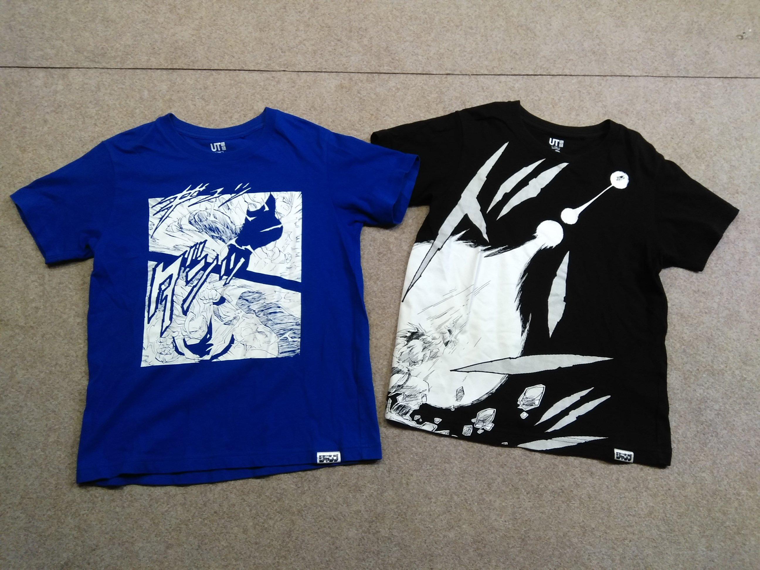ユニクロ ドラゴンボール Tシャツ 2着セット 130 キッズ mh466s