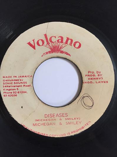 Michigan(ミシガン) & Smiley(スマイリー) - Diseases 【7inch】