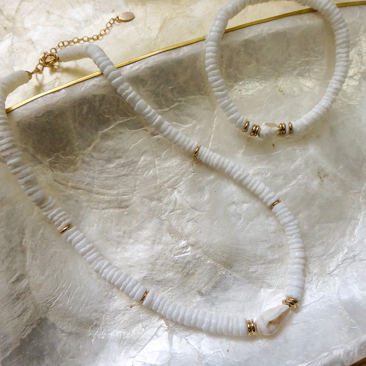 Snail × Clamshell Necklace