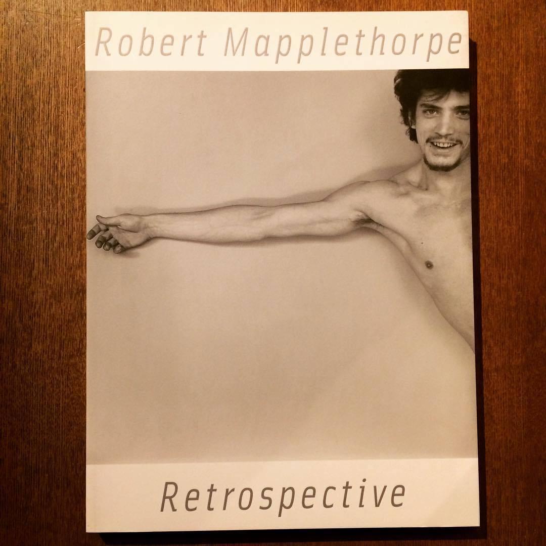 図録「ロバート・メイプルソープ展 Robert Mapplethorpe Retrospective」 - 画像1