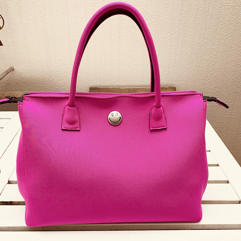 Emie's Bag フーシャーピンク(ウェットスーツ素材)
