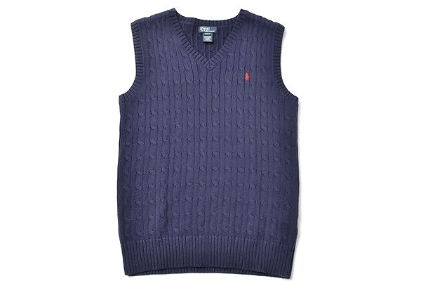 POLO Ralph Lauren sizeXL(18-20) knitvest