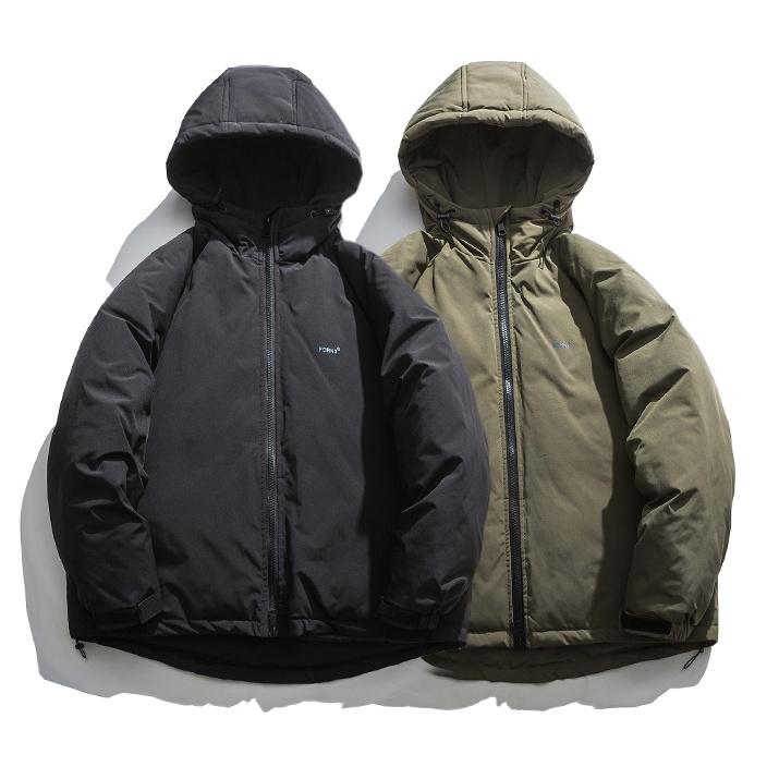 【UNISEX】アウトドア フード ジャケット【2colors】