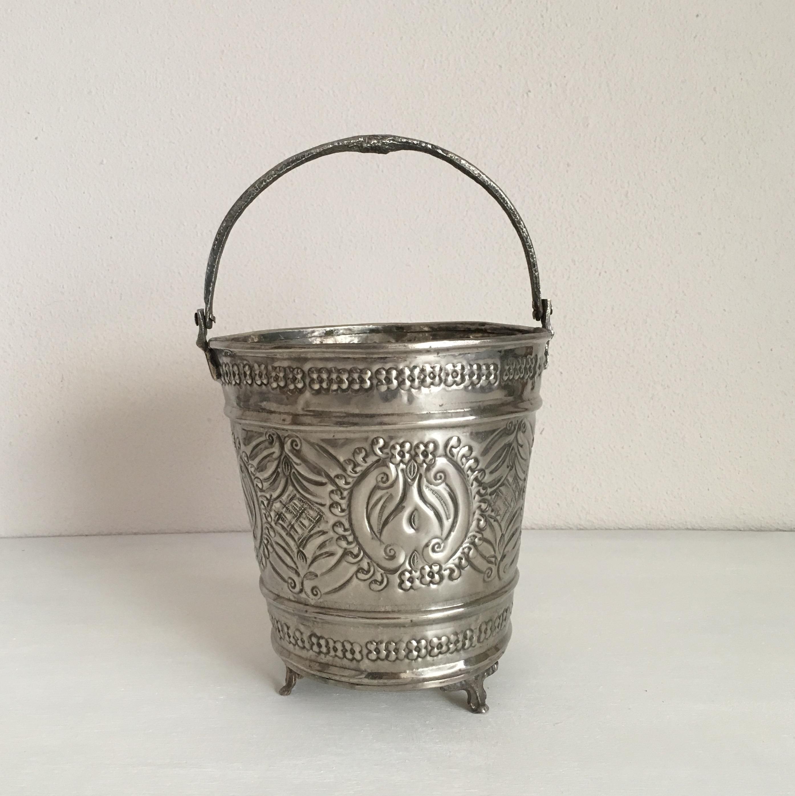 モロッコの古いハマムバケツ M