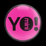 ゴーバッジ(ドーム)(CD0536 - YO MINI PINK) - 画像1