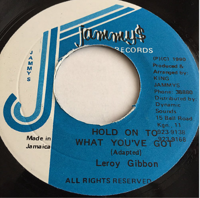 Leroy Gibbons (リロイギボンス) - Hold On To What You've Got【7'】