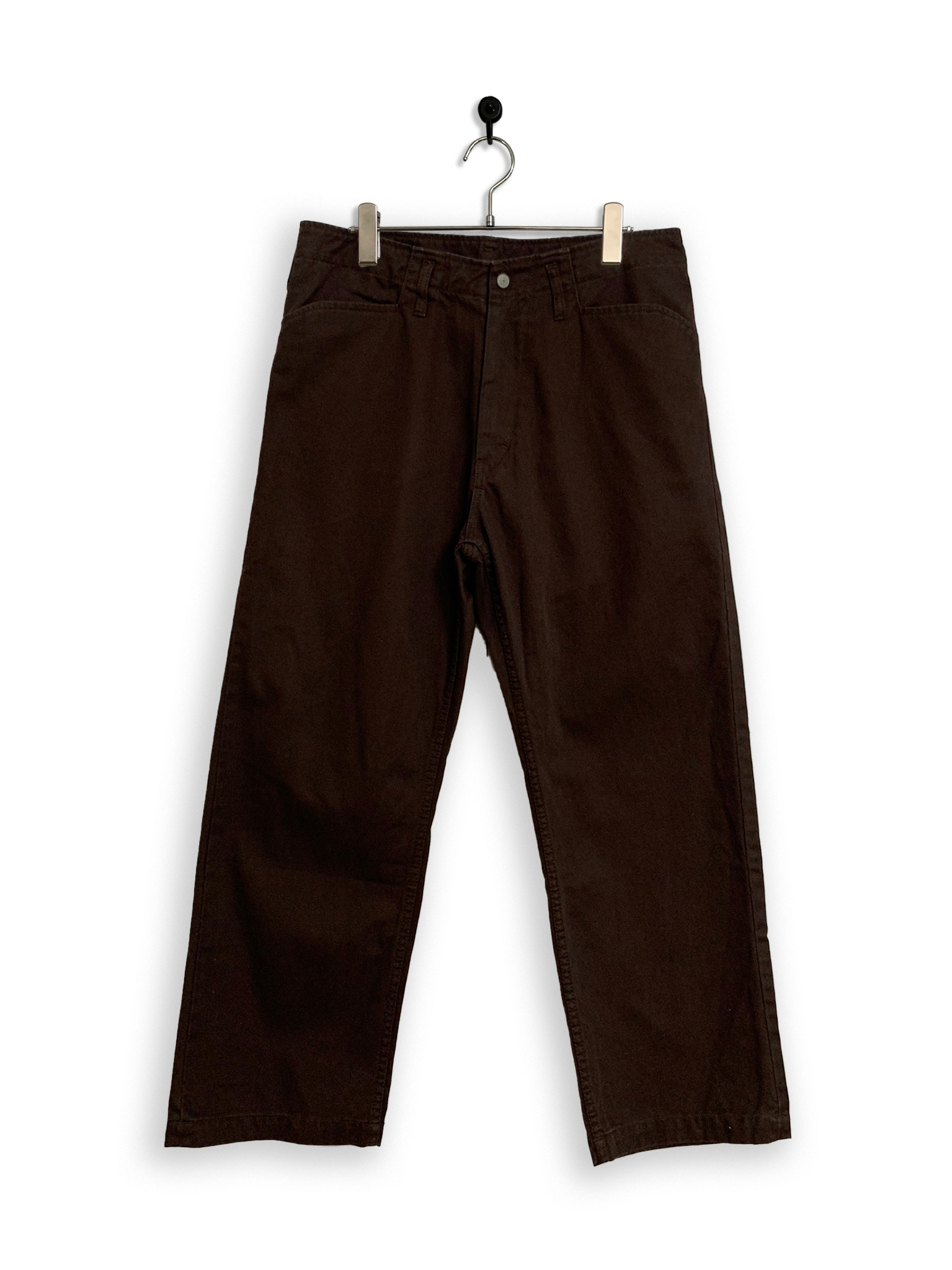 Cotton Twill Frisco Pants/ brown