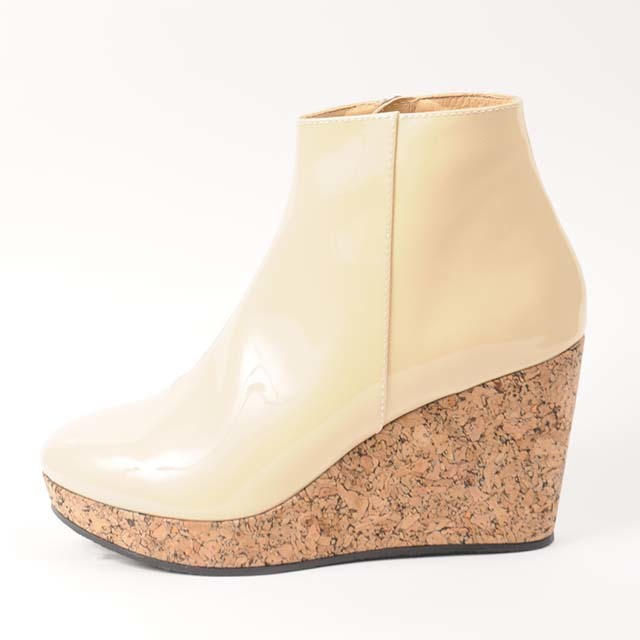 df17AW-S04 WEDGE COMBINATION BOOTY