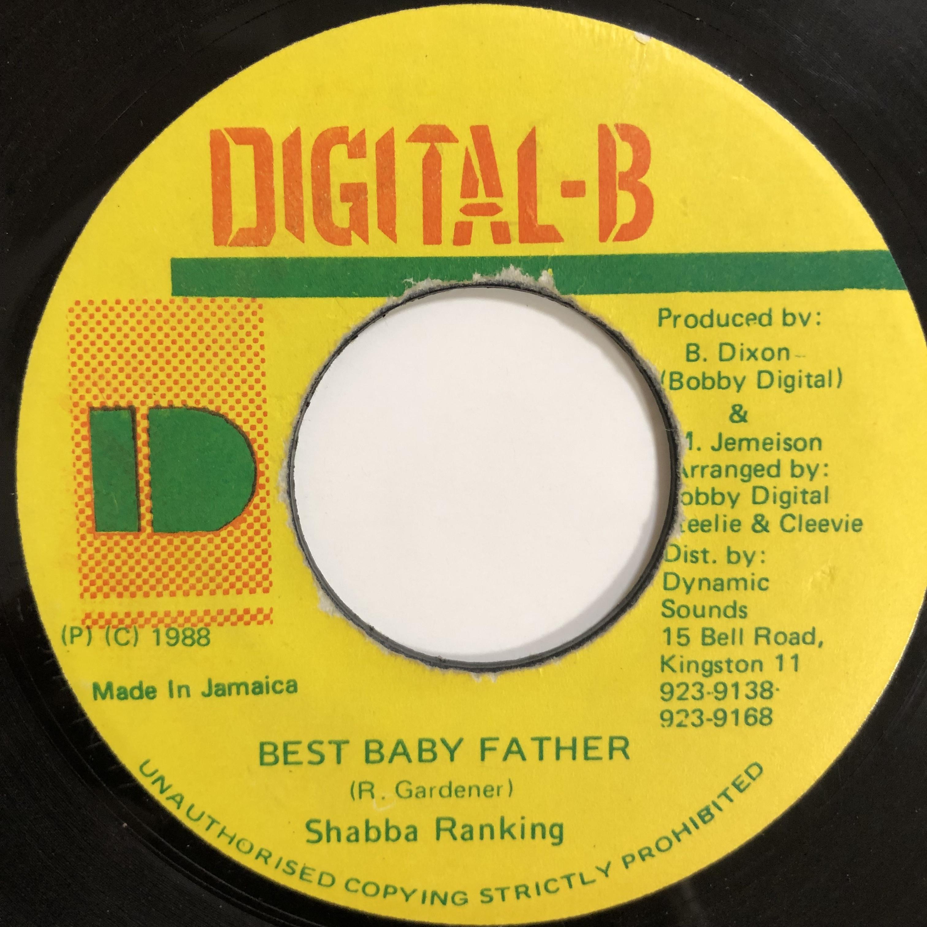 Shabba Ranks(シャバランクス) - Best Baby Father【7-20229】