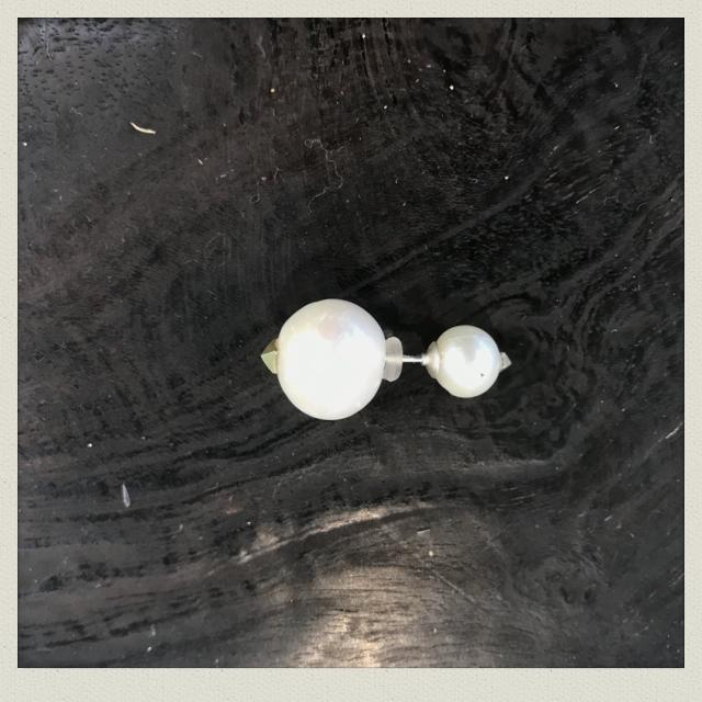 pearl  earring  4( pierce)PeE-4
