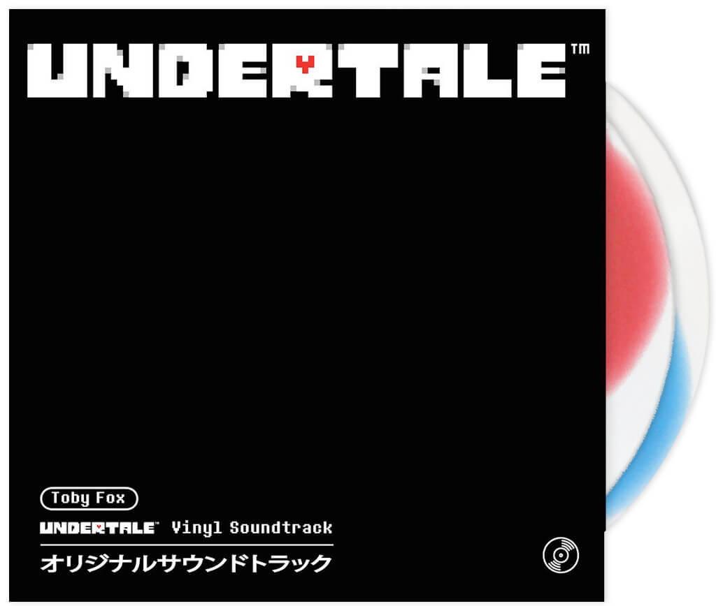 【UNDERTALE(アンダーテイル)】 レコード・セット(ジャパンエディション2LP) - 画像1