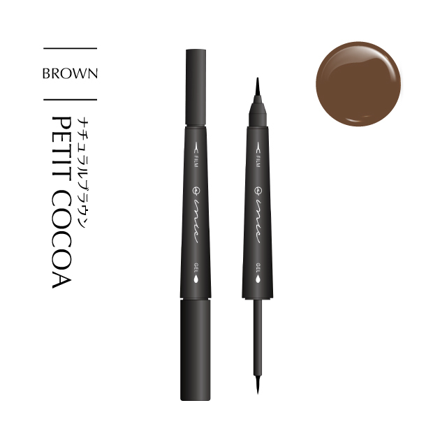 MORE BLOOM DUAL EYELINER #PETIT COCOA - 画像1