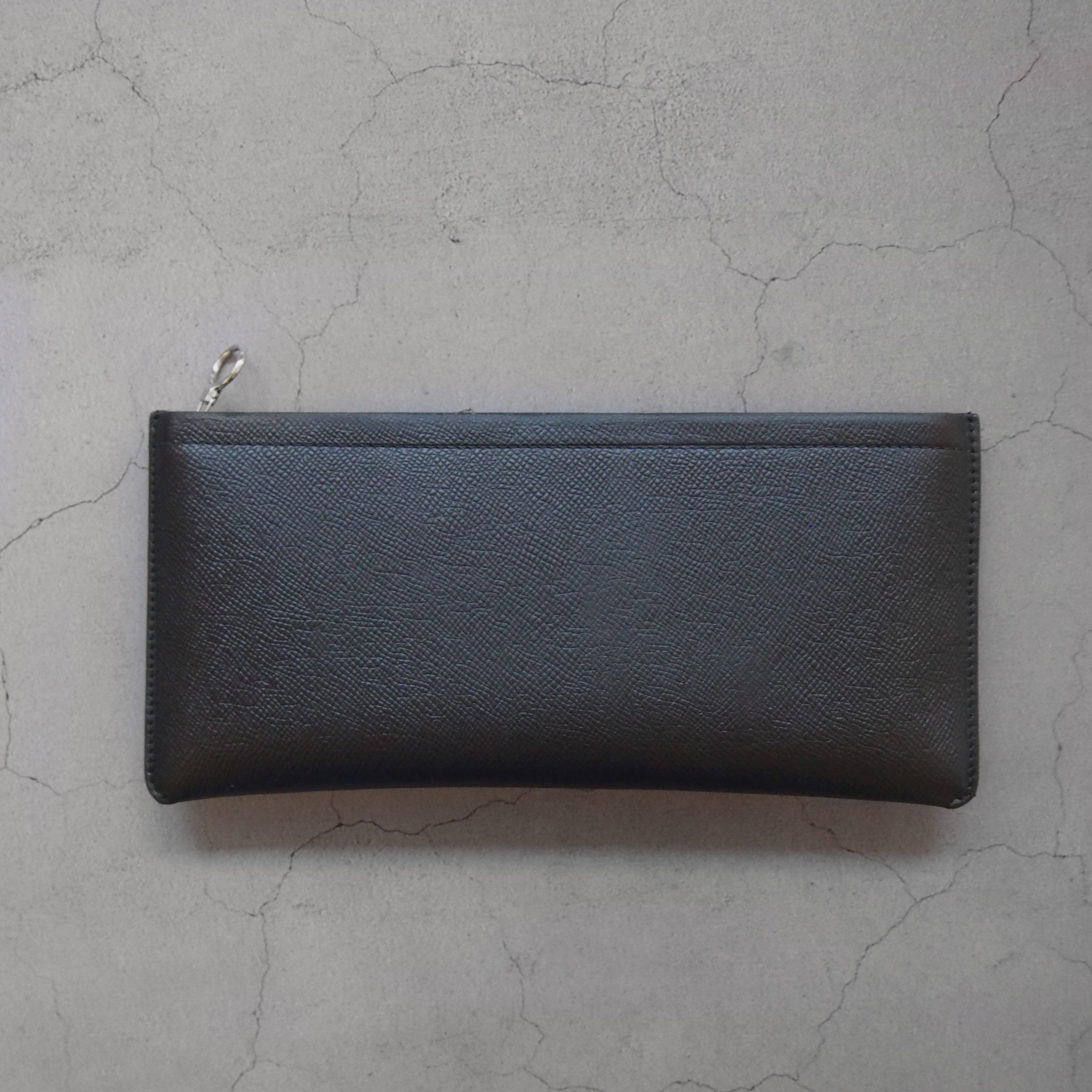 Aeta BI05 BIG LONG WALLET BLACK/SILVER
