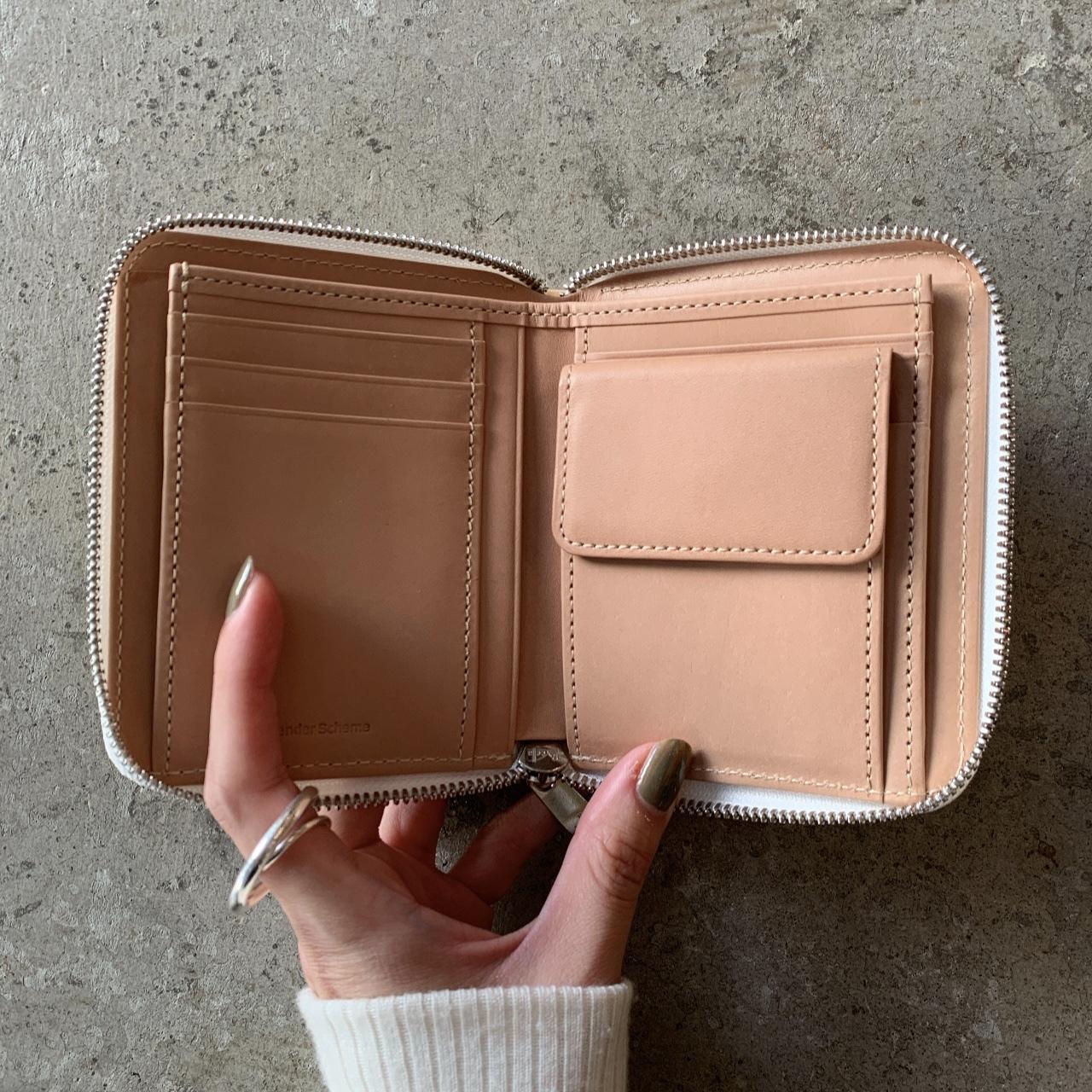 Hender Scheme - square zip purse