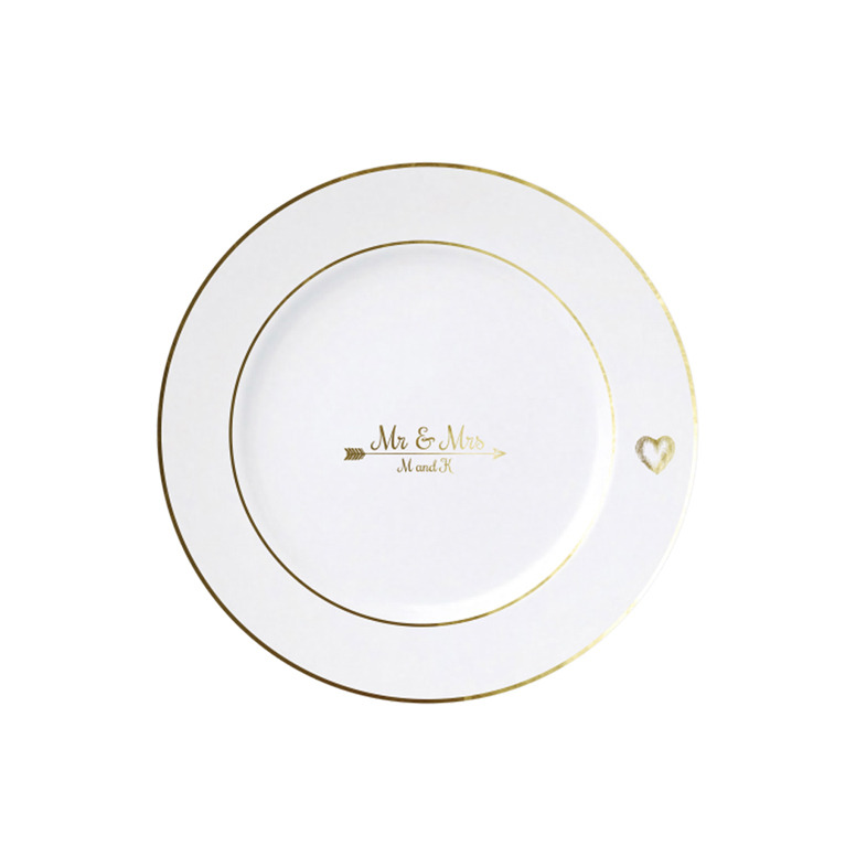 Heart and Arrow Plates