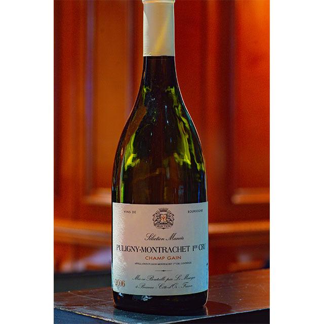 2006年ピュリニィモンラッシェ シャンガン プルミエクリュ 白ワイン