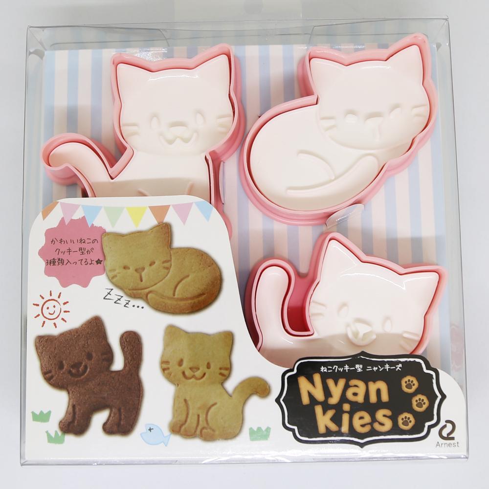 猫クッキー型(ニャンキーズ)