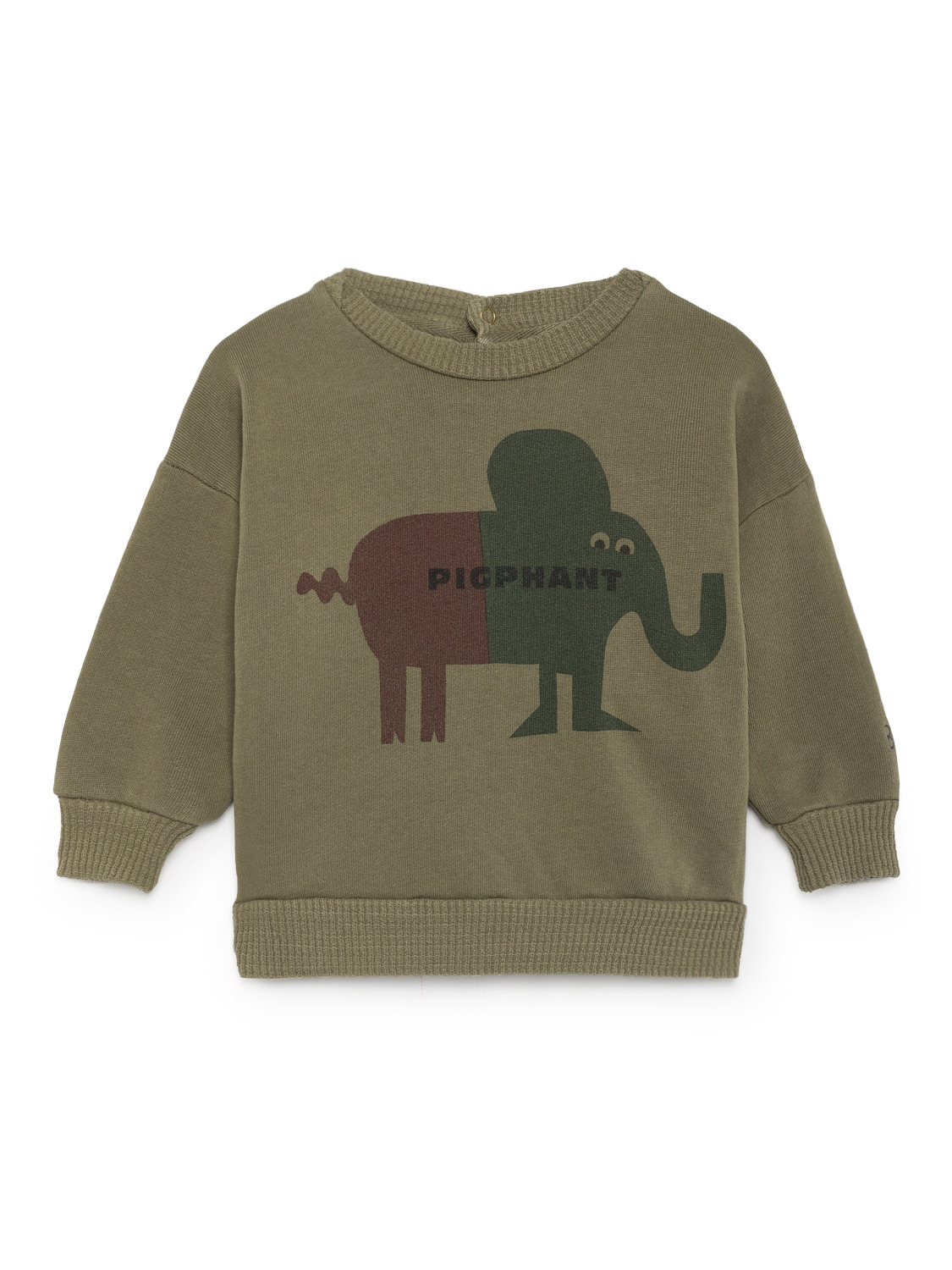 《BOBO CHOSES 2018AW》Pigphant Round Neck Sweatshirt / 12-36M
