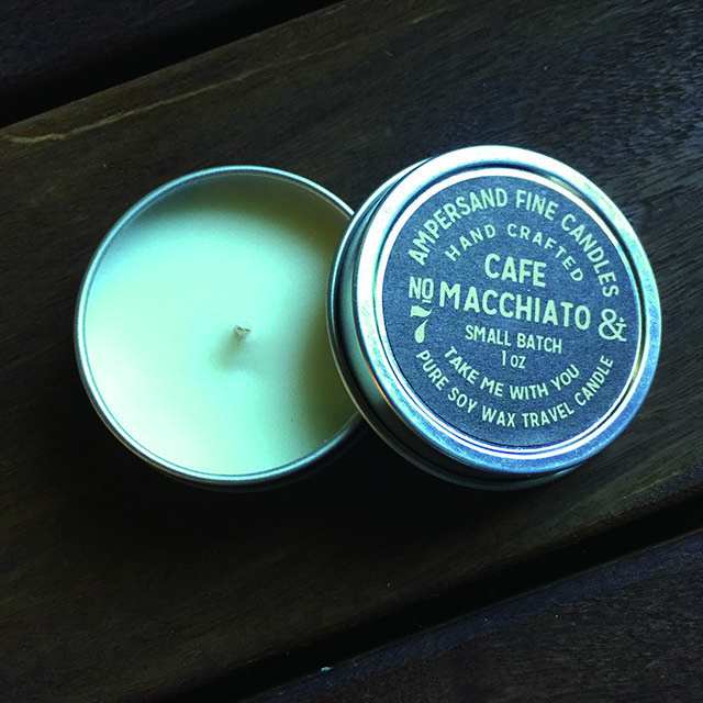 1oz Travel Can -CAFE MACCHIATO- キャンドル Candles - 画像2