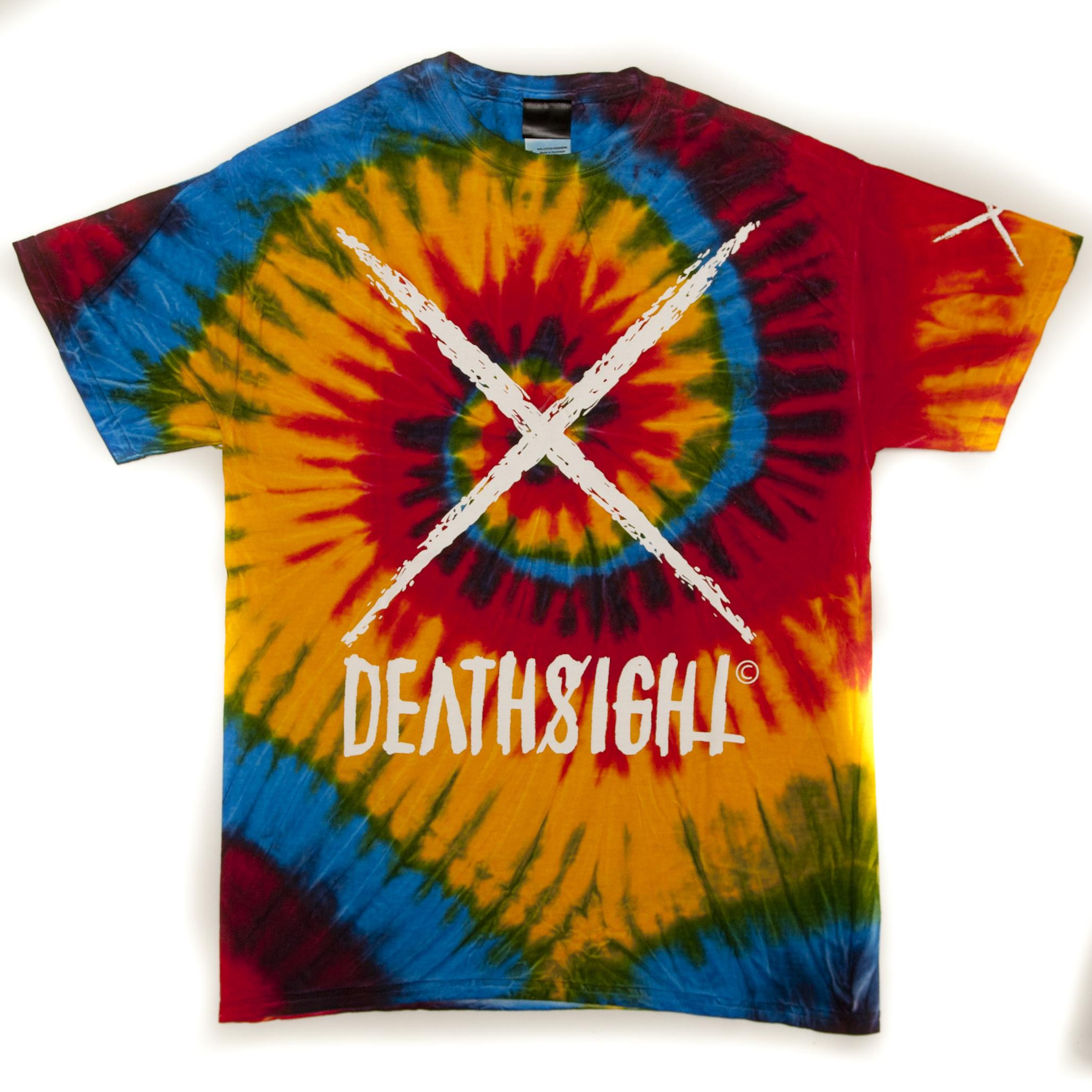 """deathsight"" Tees / Tie Dye(限定カラー) - 画像1"
