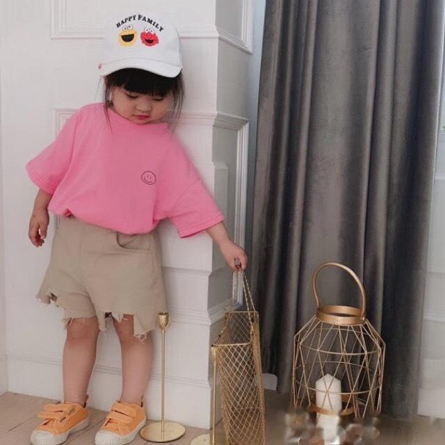 バックレターTEE ピンク【T074】
