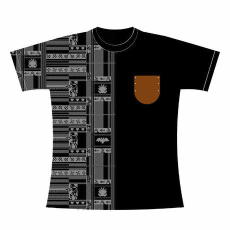 悪魔城ドラキュラ 「Vampire Hunter」 Tシャツ / GAMES GLORIOUS