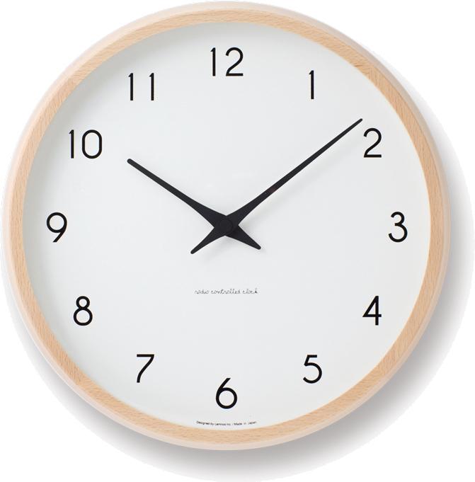 タカタレムノス Campagne 電波時計 ナチュラル PC10-24W NT