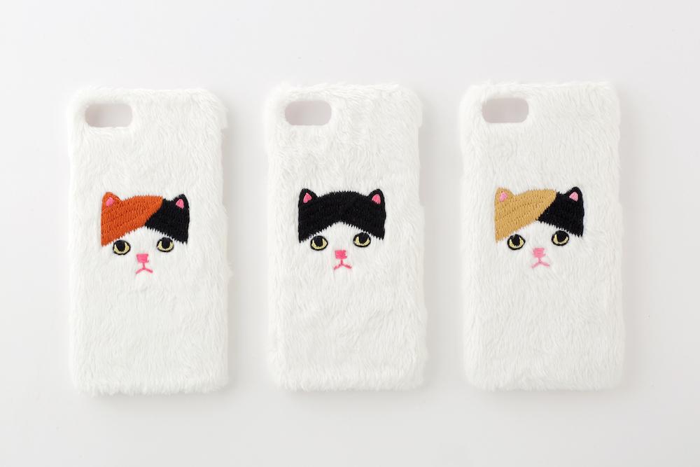 【iPhone7/8専用】三毛ネコiPhoneハードケース