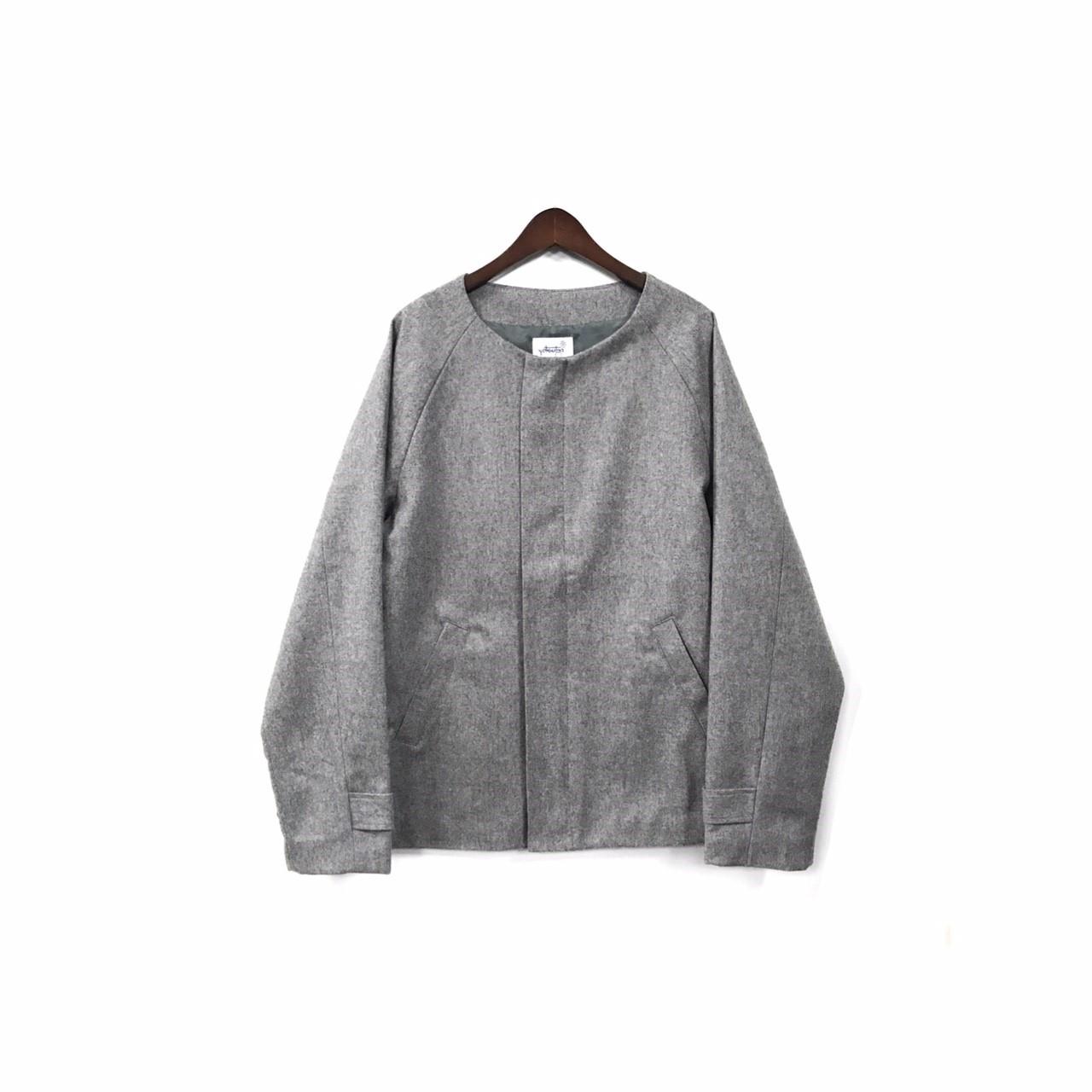 yotsuba - Nocollar Jacket / Gray ¥35000+tax