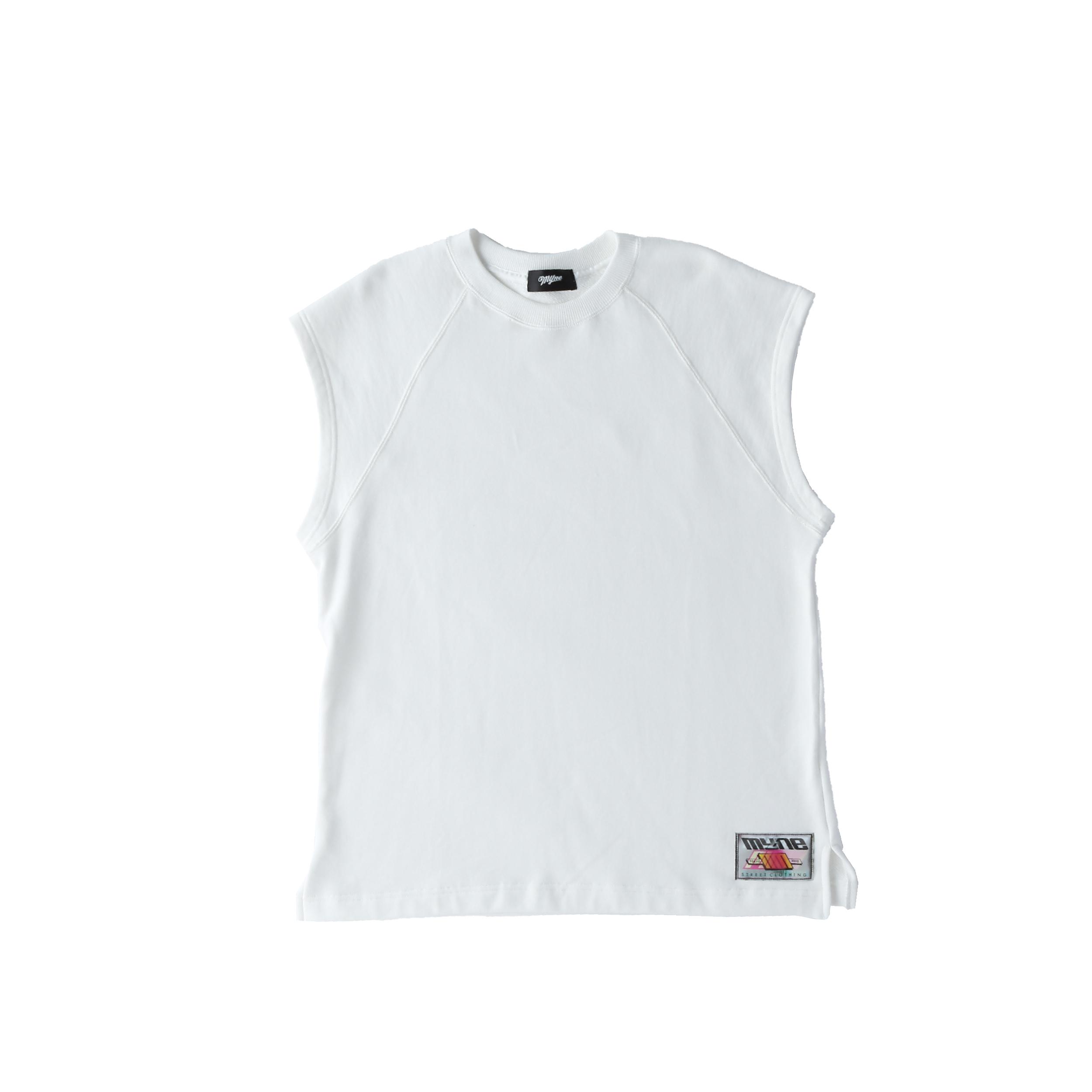 Wappen no-sleeve sweat / WHITE  - 画像1