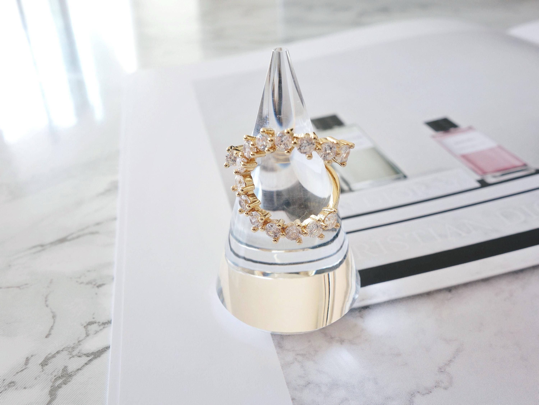 【在庫限り】horseshoe stone ring