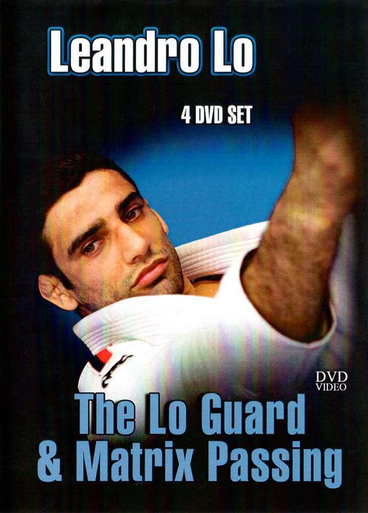 【お取り寄せ中です】レアンドロ・ロ The Lo Guard & Matrix Passing 4枚組 【ブラジリアン柔術教則DVD 】