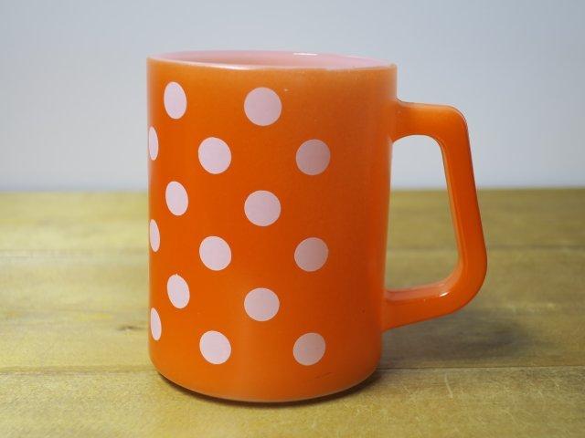 Federal コンチネンタルマグ ポルカドット 橙