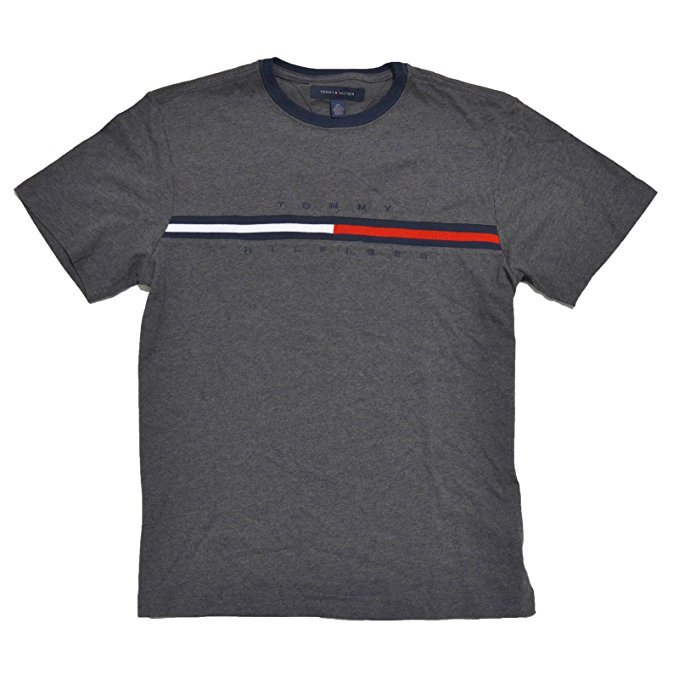 Tommy Hilfiger T-Shirt Mens Gray