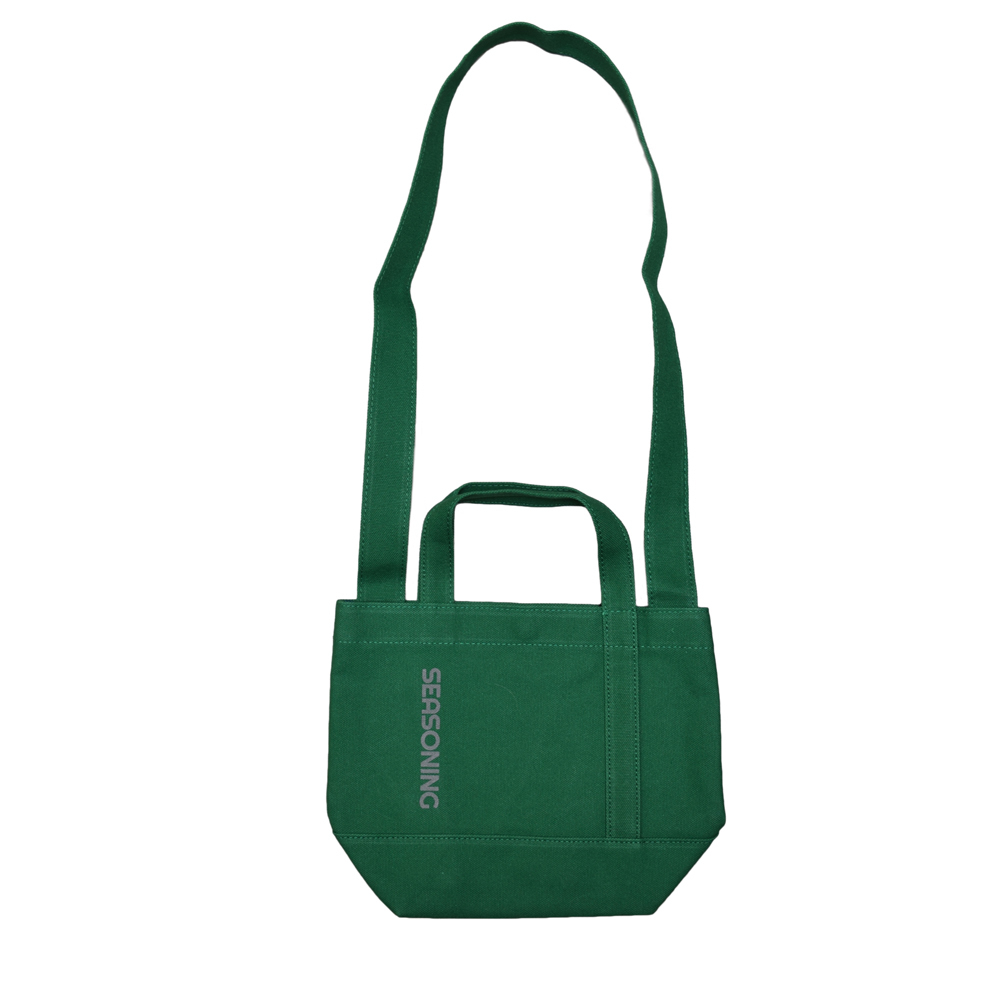 MINI TOTE BAG - GREEN