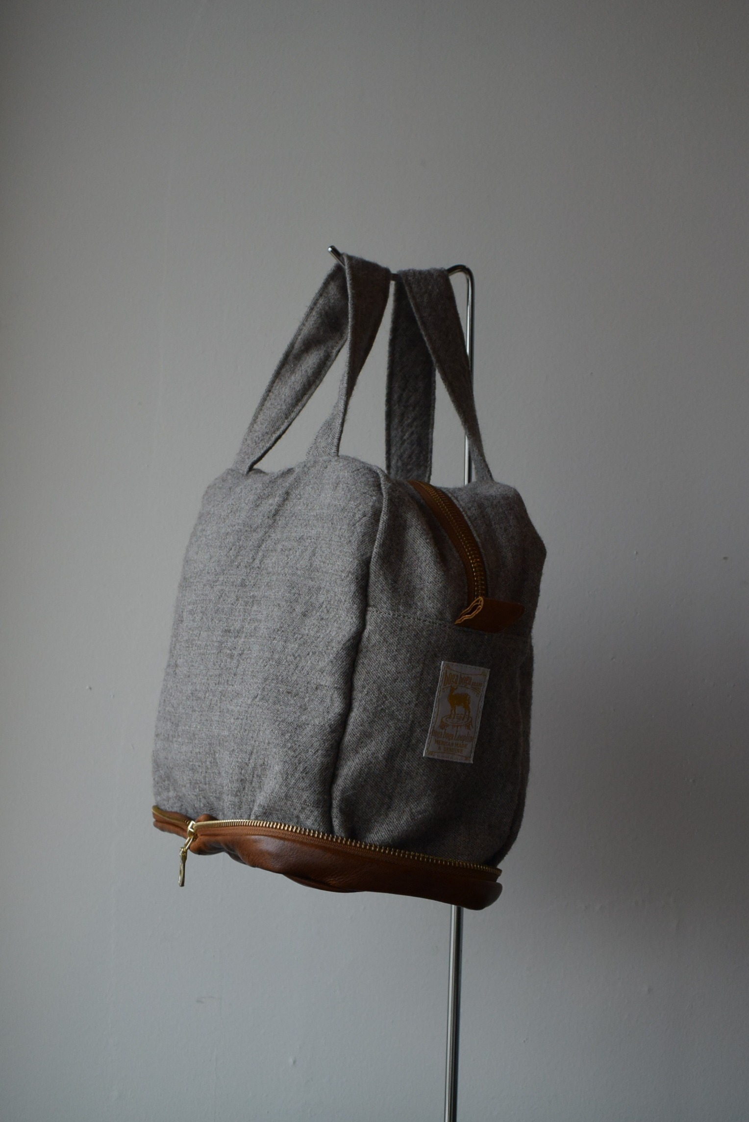 "boga boga loopline  Potentiality packable  ""BOSTON TOTE"""