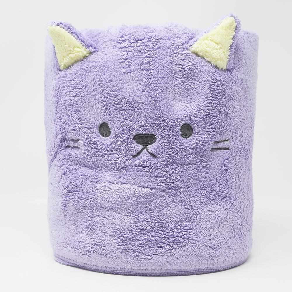 猫バスタオル(吸水速乾アニマルねこ)