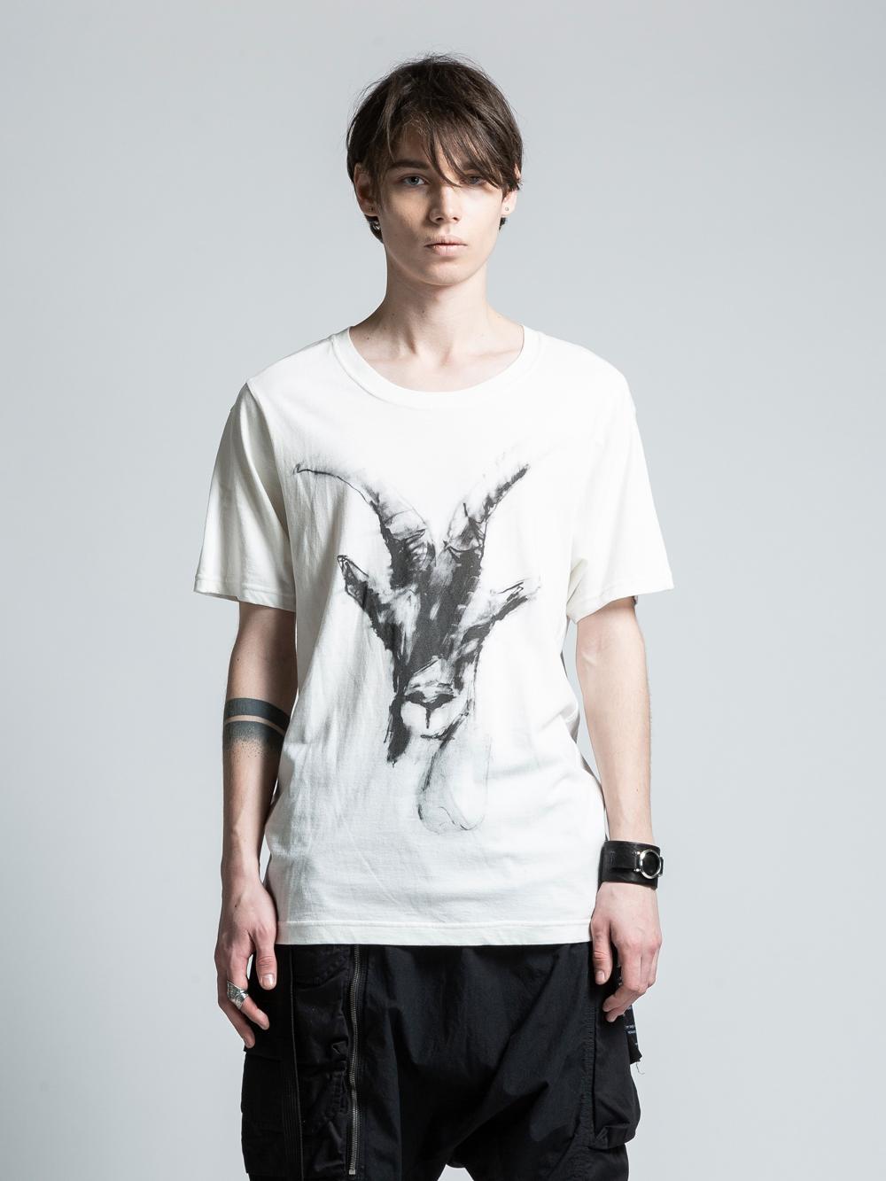 VI-PM-003-01 / PATRICIA MARCH コラボレーションフロントプリントTシャツ