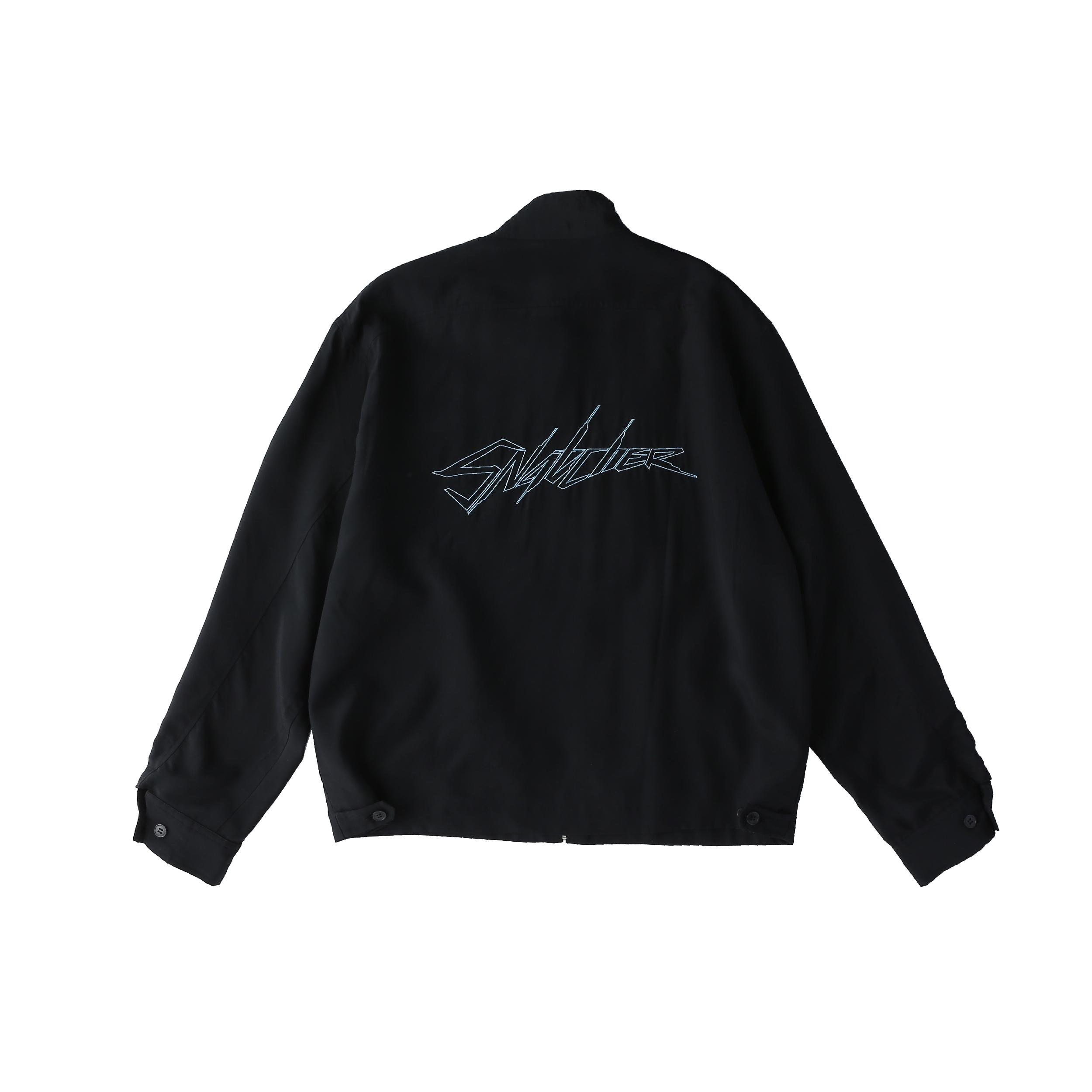 SNATCHER drizzler jacket / BLACK - 画像2