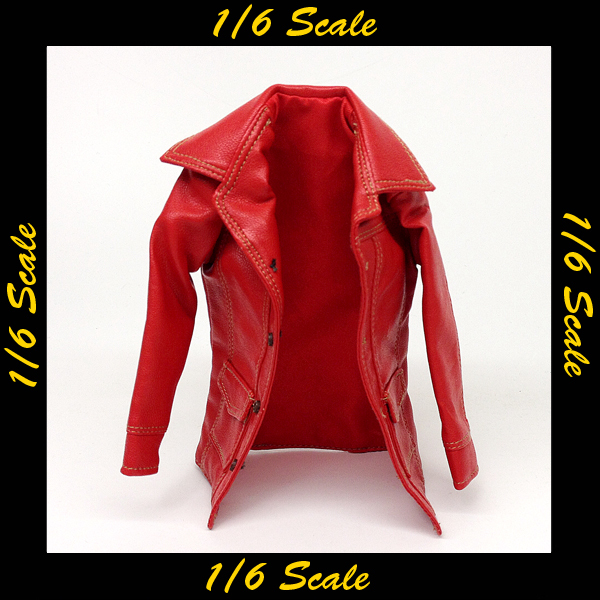 【01850】 1/6 CraftOne 赤革ジャン
