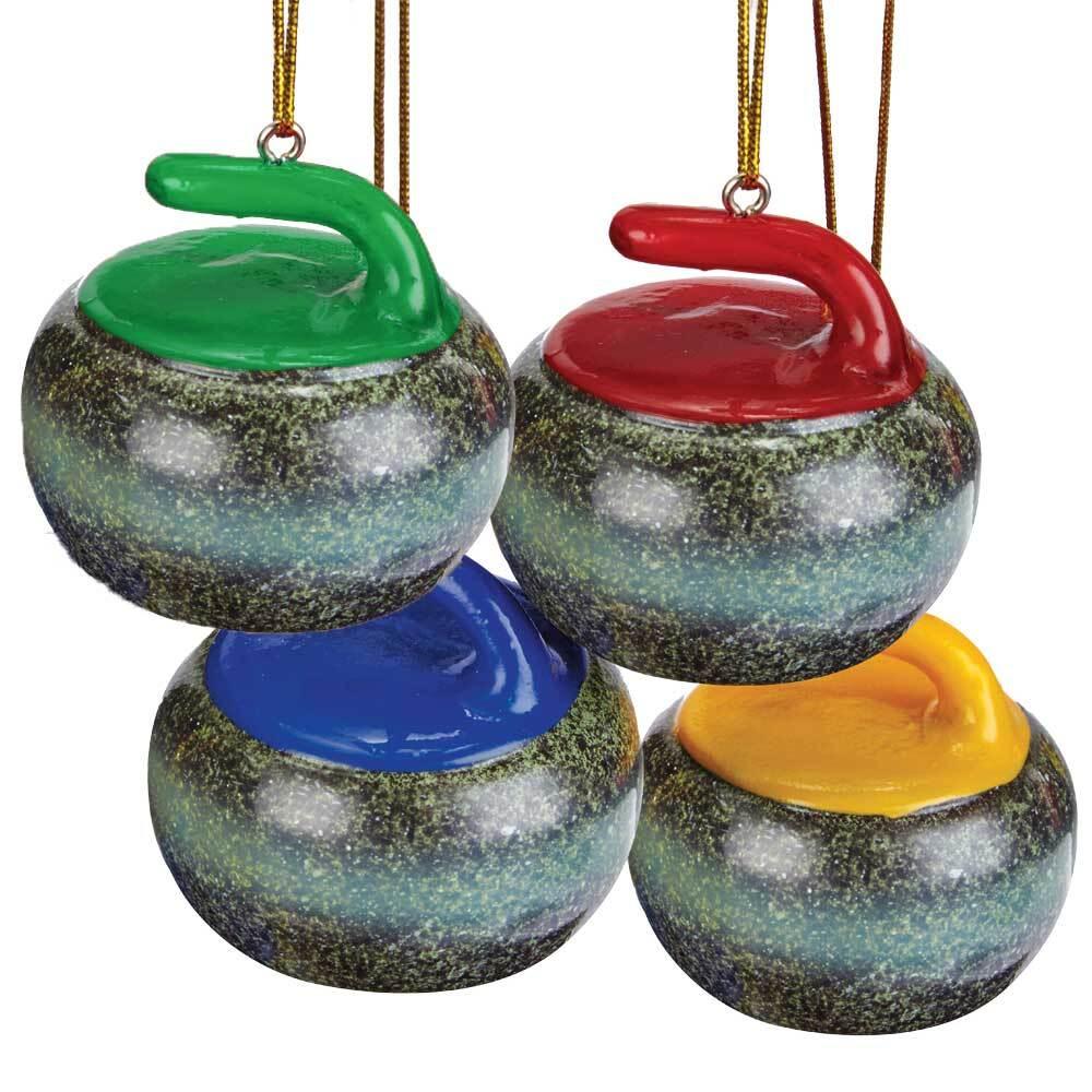 Curling Rock ツリーオーナメント